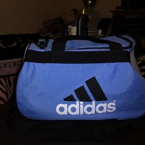 Adidas duffle gym bag alot of room in the bag